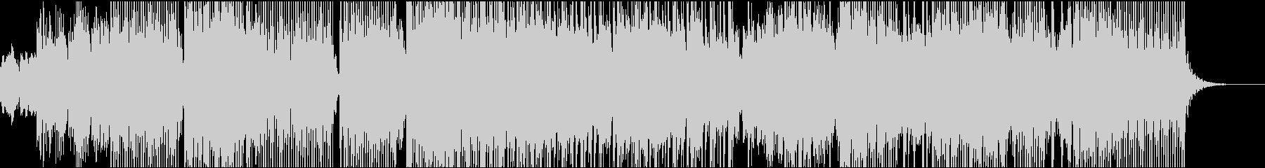 電子オルガンダンスミュージックの未再生の波形