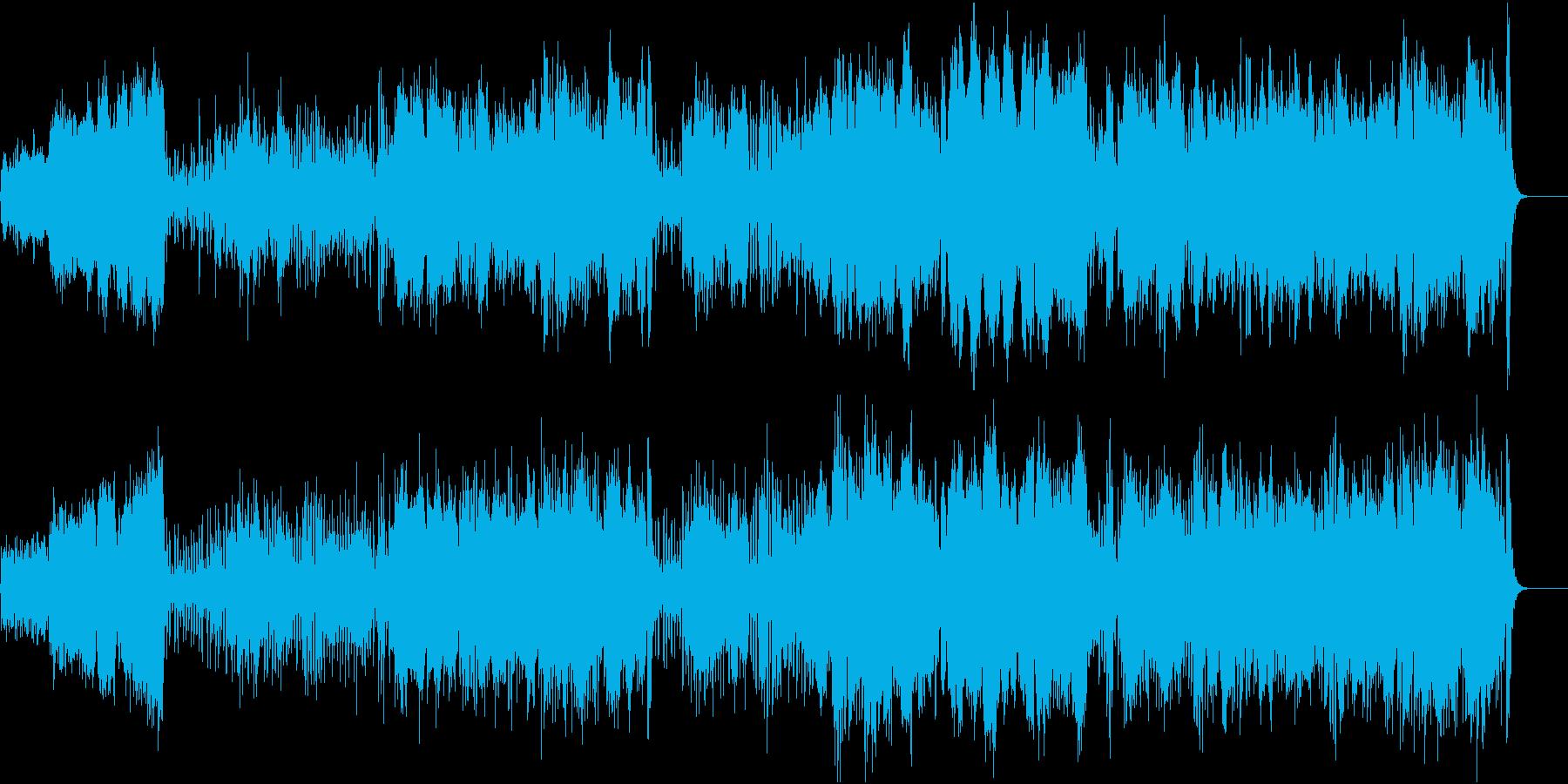 優雅な昼下がりを思わせる3拍子クラシックの再生済みの波形