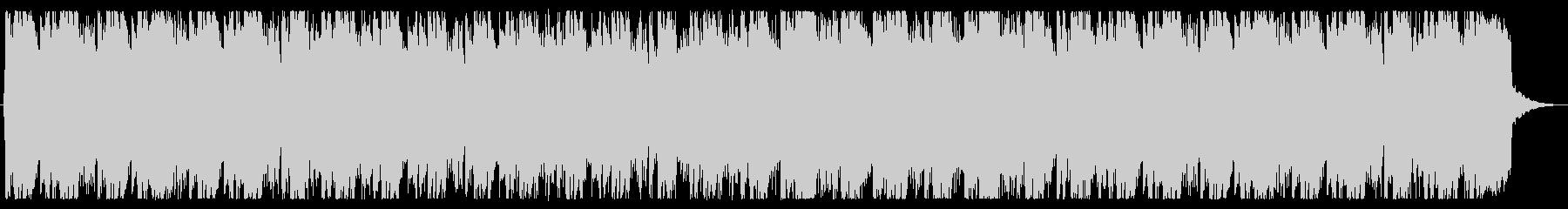 厳格な和風BGMの未再生の波形