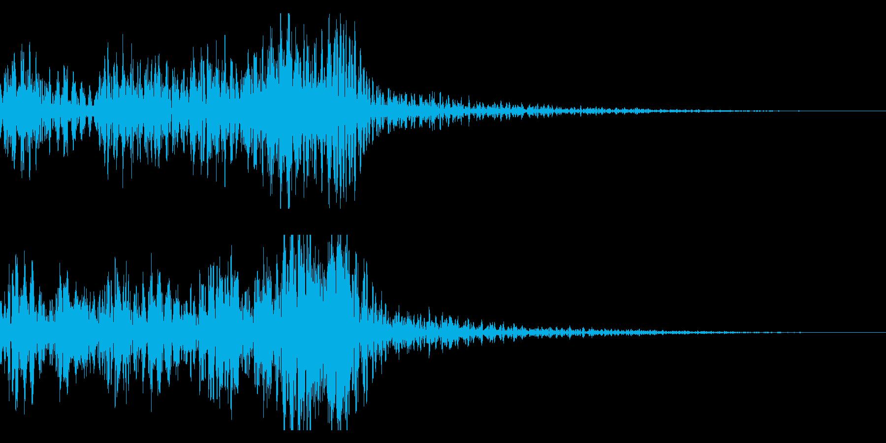 太鼓 和太鼓フレーズ ジングル ロゴ14の再生済みの波形