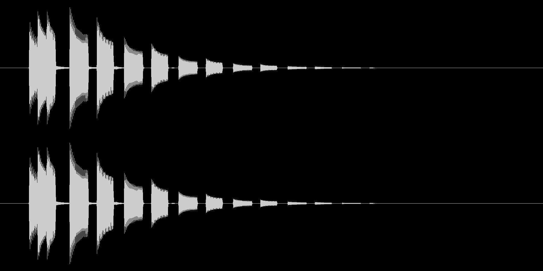 GEN-格闘01-14(選択)の未再生の波形