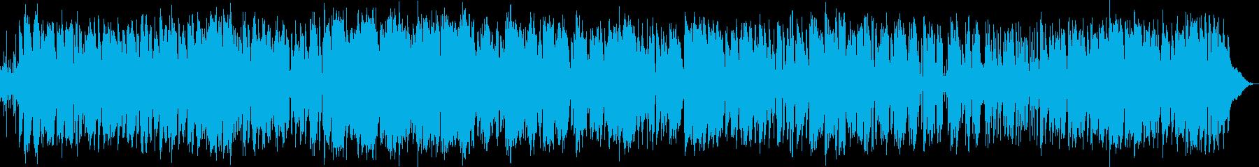 ムードのあるジャズ調でサックス中心の再生済みの波形