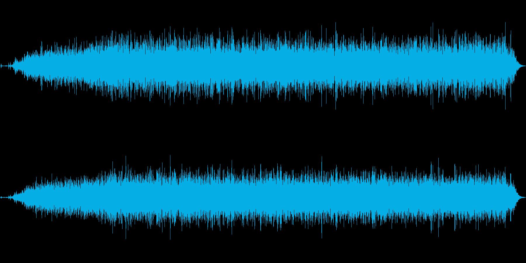 ドライヤー(強)の再生済みの波形