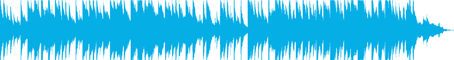 学校の裏山っぽい音楽の再生済みの波形