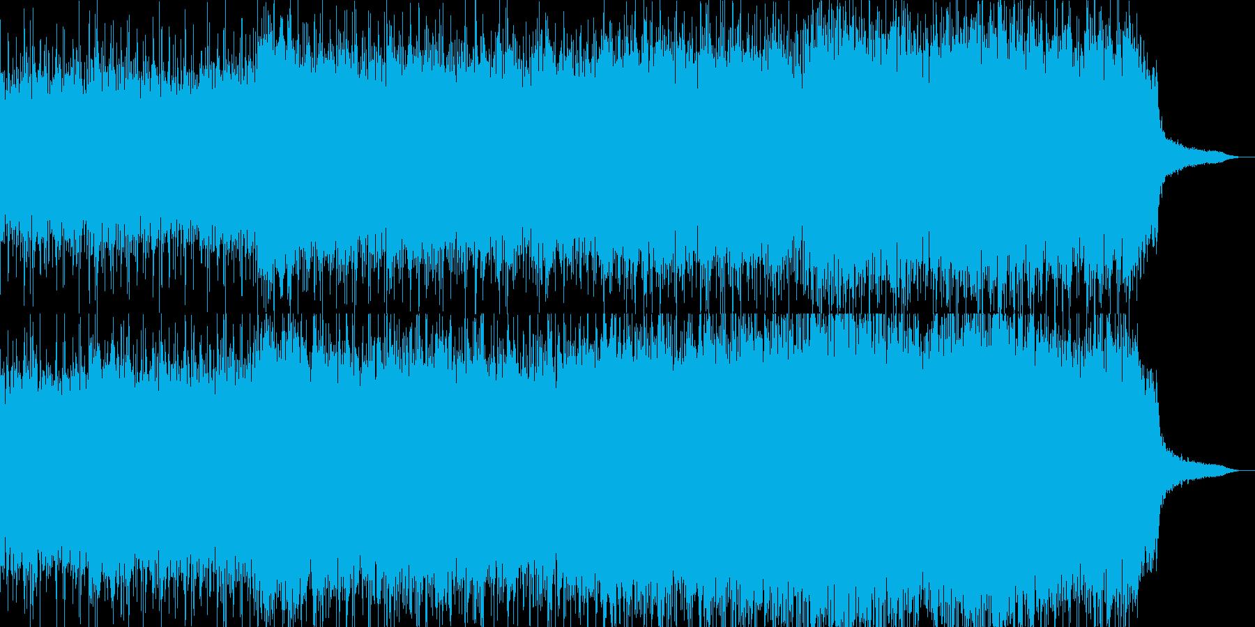 古代遺跡へ思いをはせる民族緒の曲の再生済みの波形