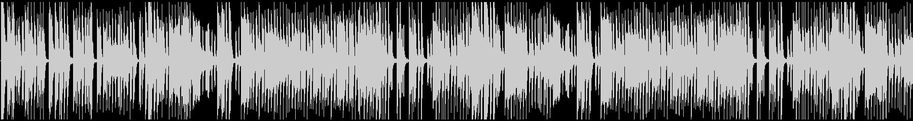 明るい演歌的なメロディの和風BGMの未再生の波形