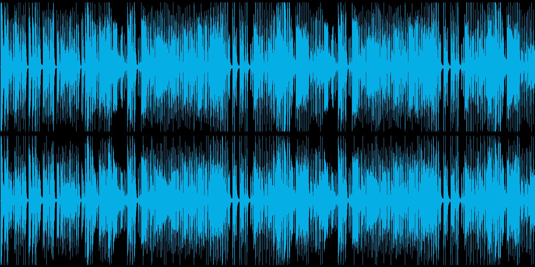 明るい演歌的なメロディの和風BGMの再生済みの波形