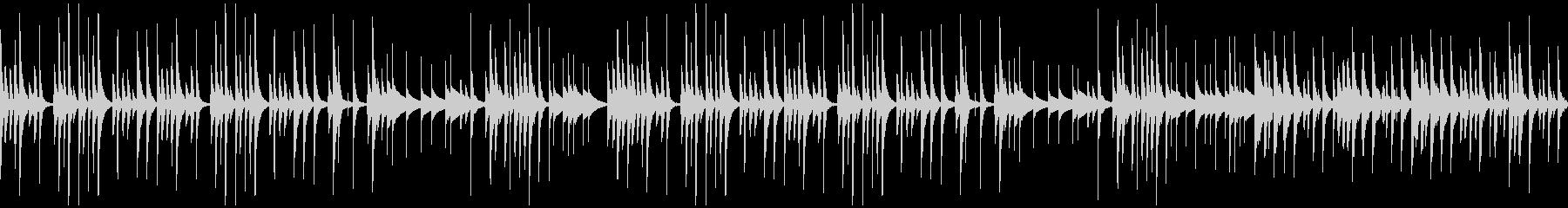 ほのぼの系BGM(ループ)の未再生の波形