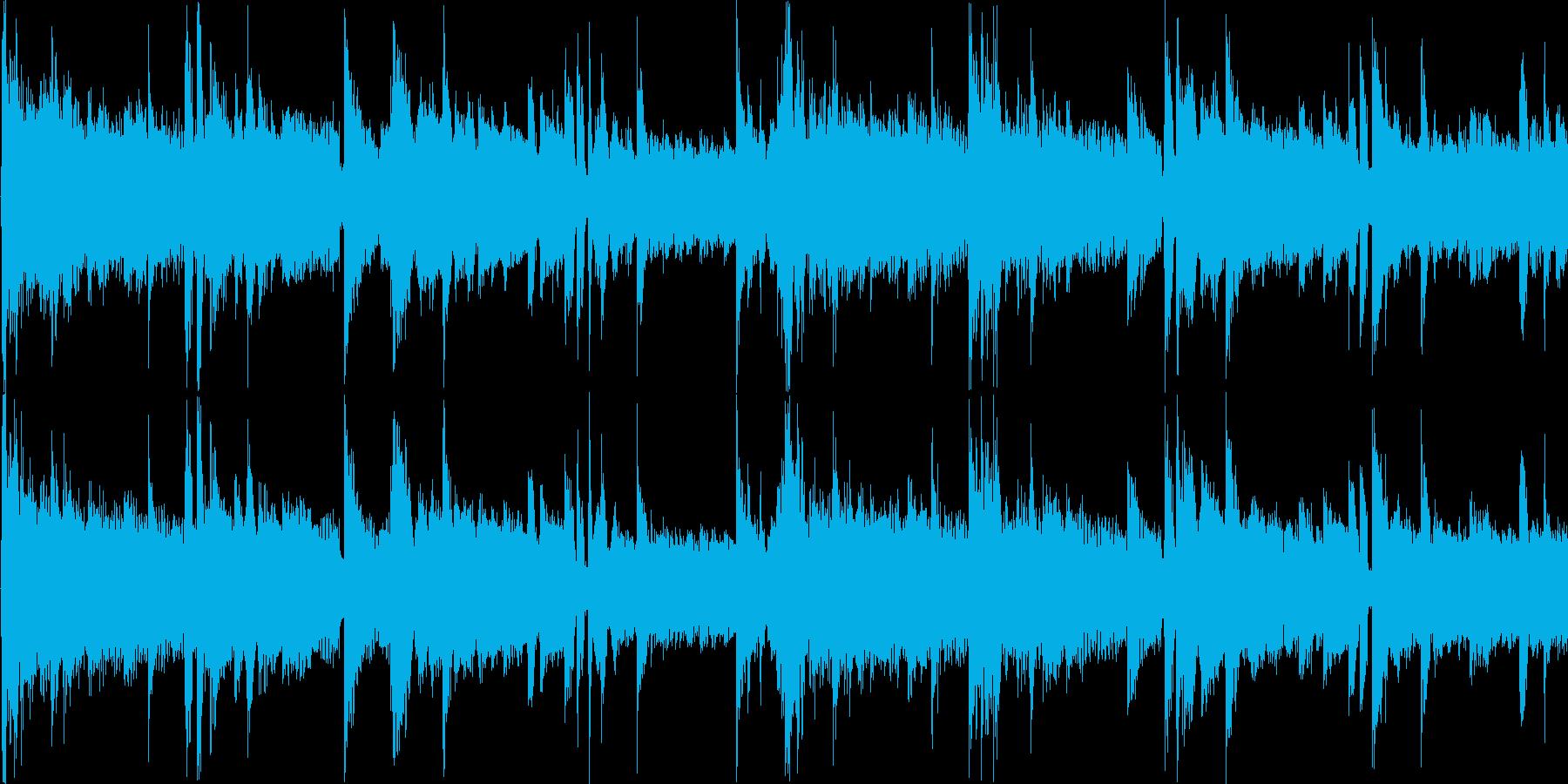 浮遊感のある幻想的なエレクトロニカの再生済みの波形