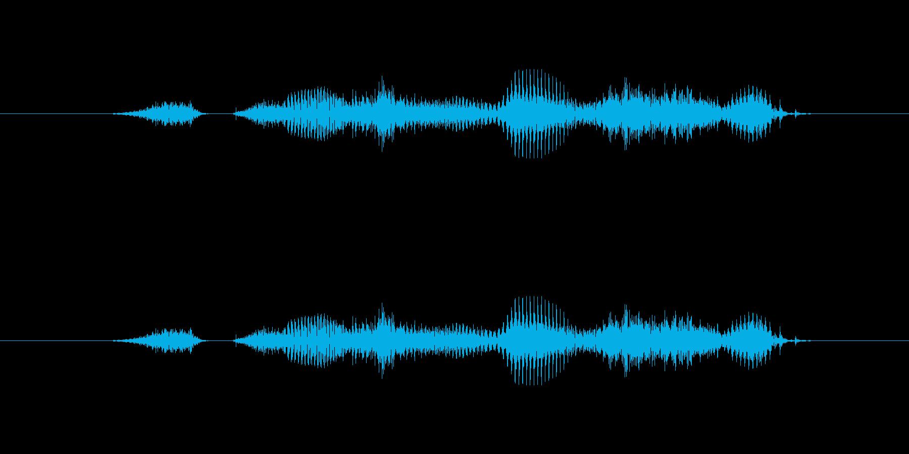 【干支】ヒツジ年の再生済みの波形