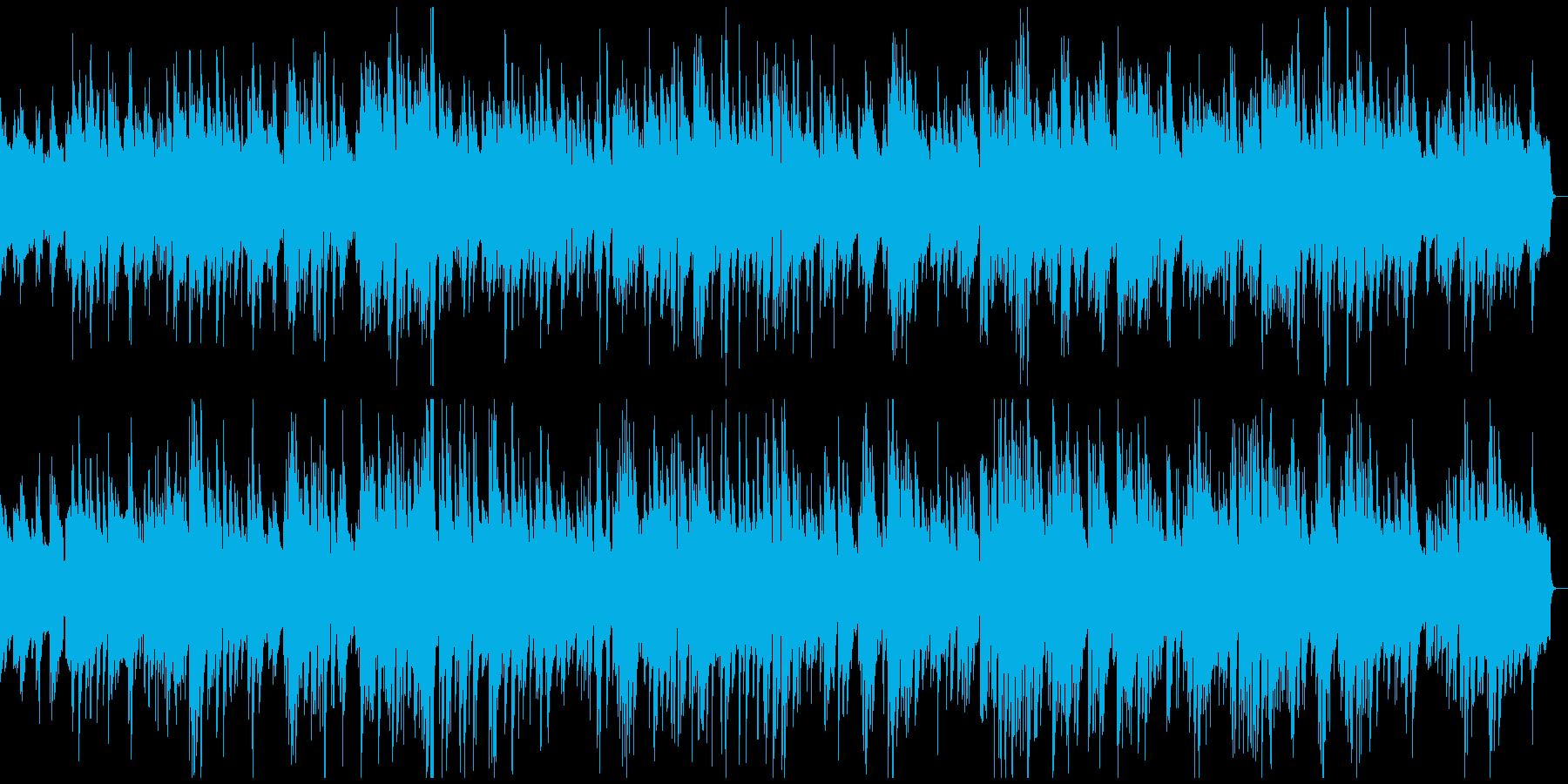 しっとりとしたピアノジャズの再生済みの波形