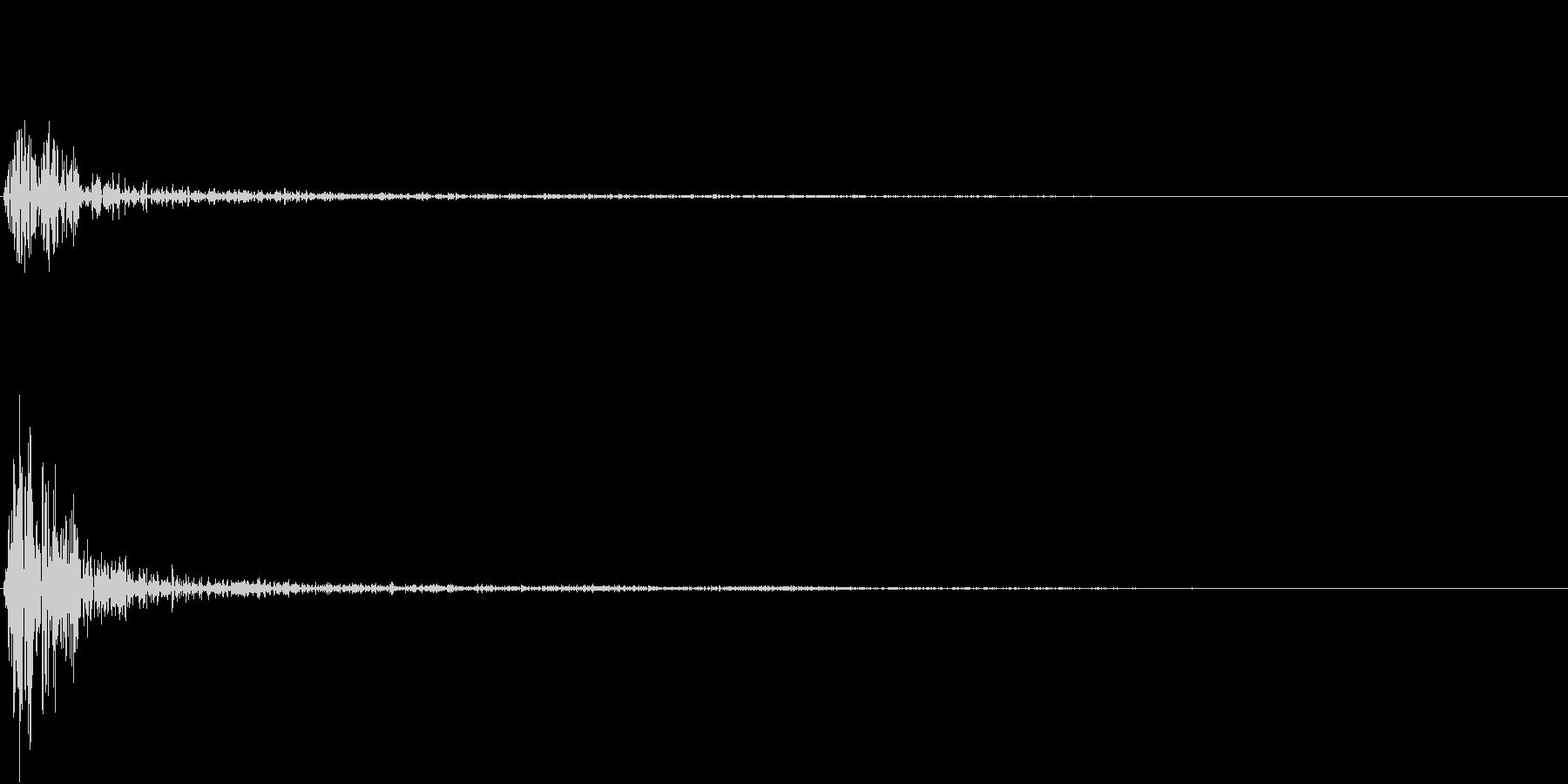 Kitchen 調理器具の音 単発 5の未再生の波形