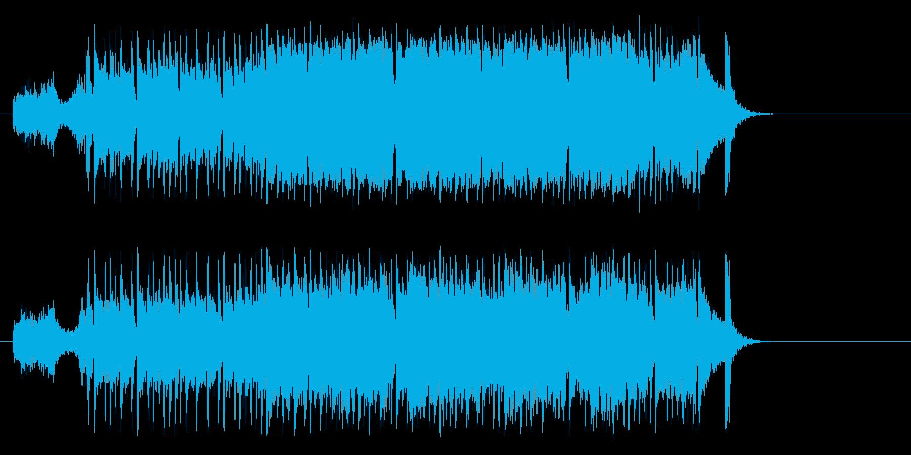 町に飛び出す様なポップ(イントロ~サビ)の再生済みの波形