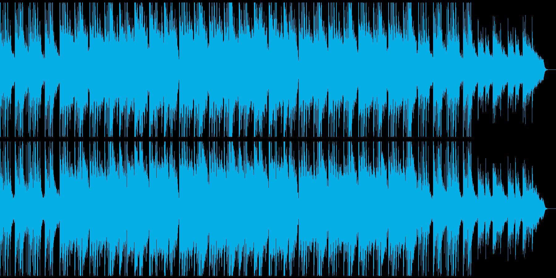 和風バラード 琴、和太鼓、尺八、ピアノの再生済みの波形