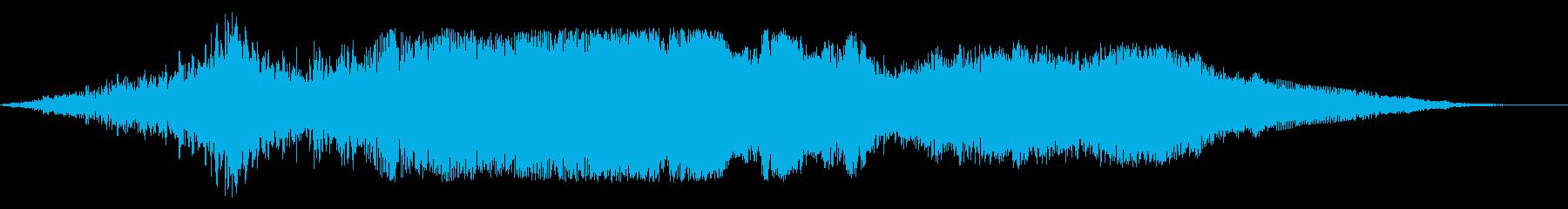 F1などのレース、エンジン音に最適!31の再生済みの波形