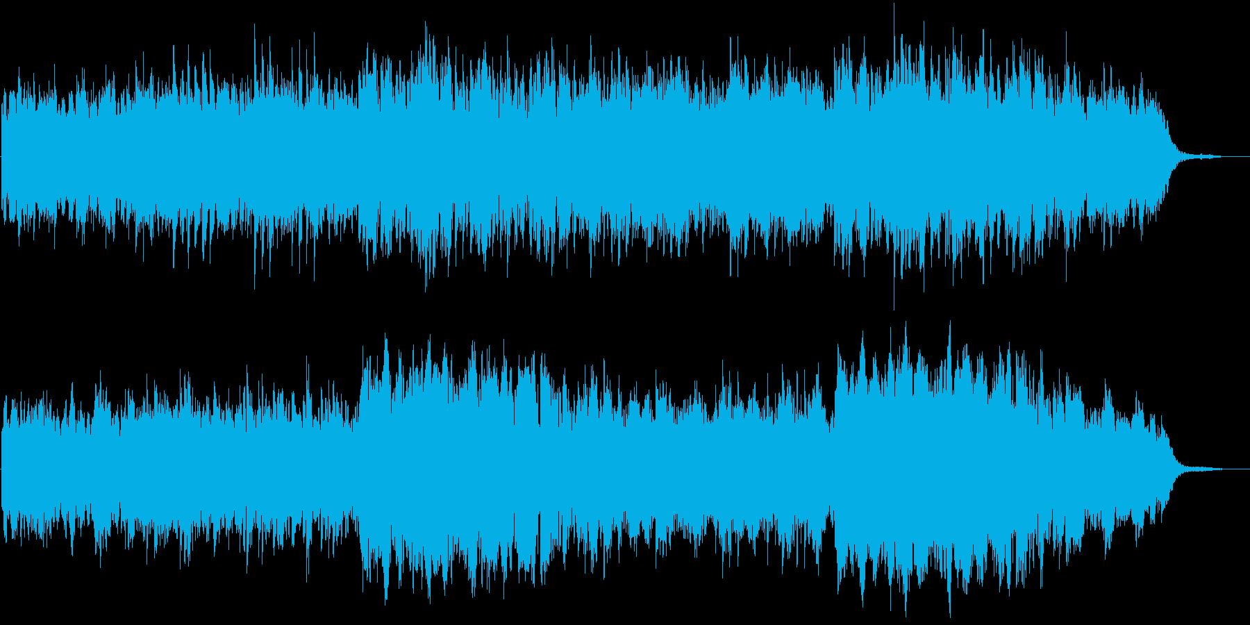 企業VPや映像に わくわくする静けさの再生済みの波形