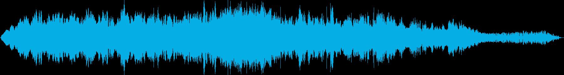 「幻想的なイメージのBGM」の再生済みの波形