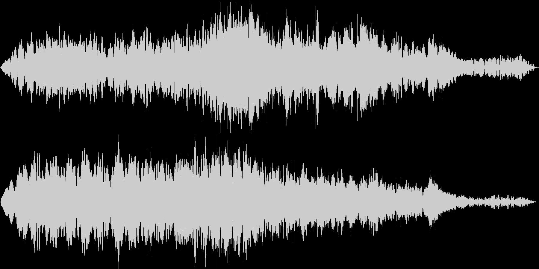 「幻想的なイメージのBGM」の未再生の波形