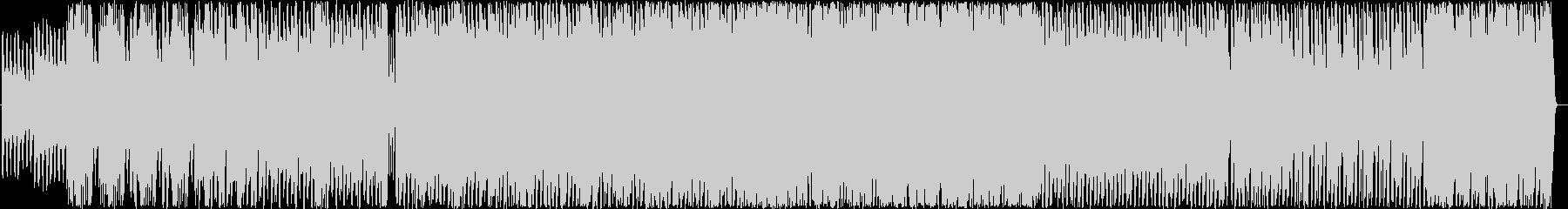 ストリングスを使用した半電子音楽の未再生の波形