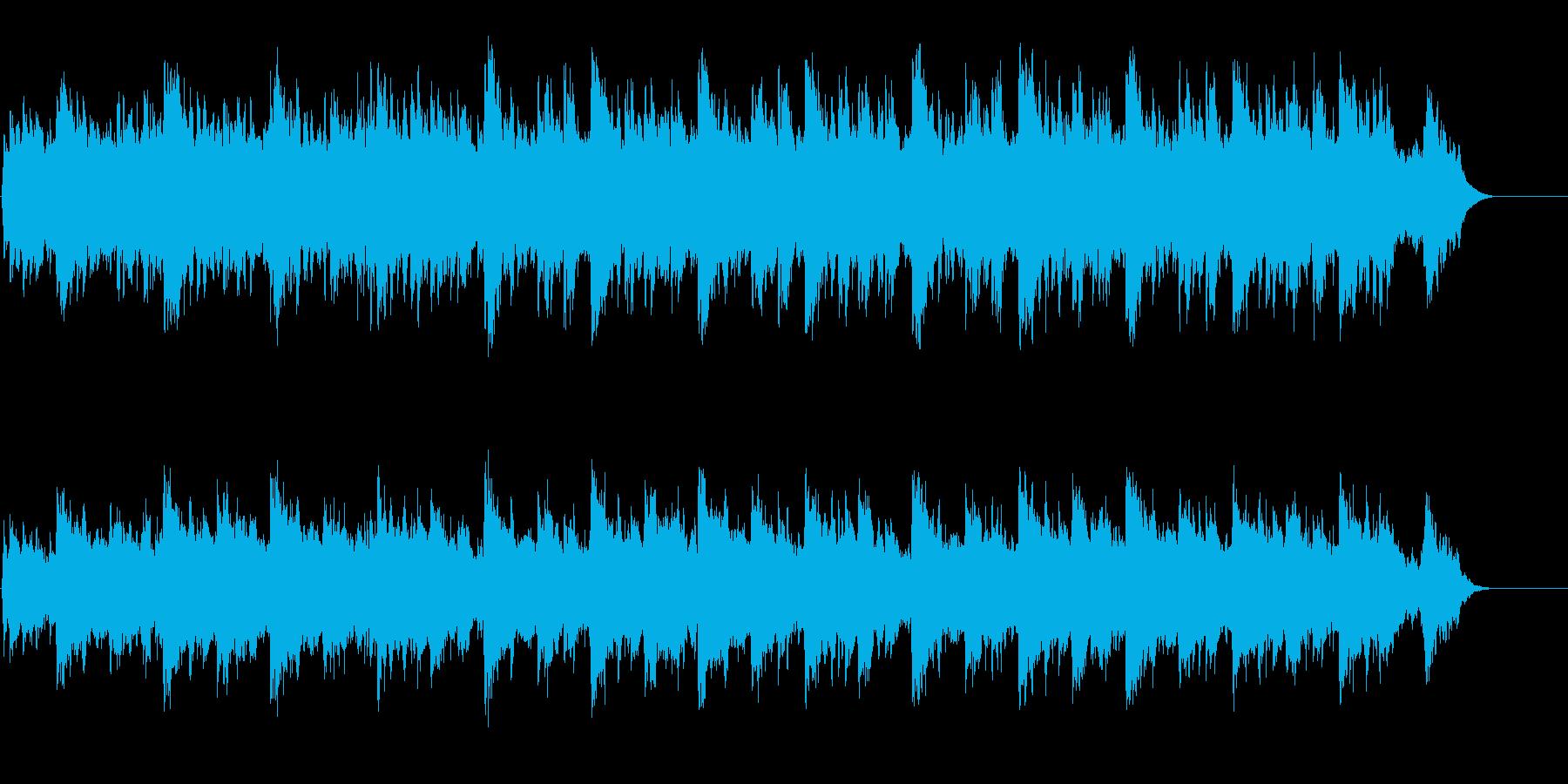 神秘的なサイエンス・タッチの環境BGの再生済みの波形