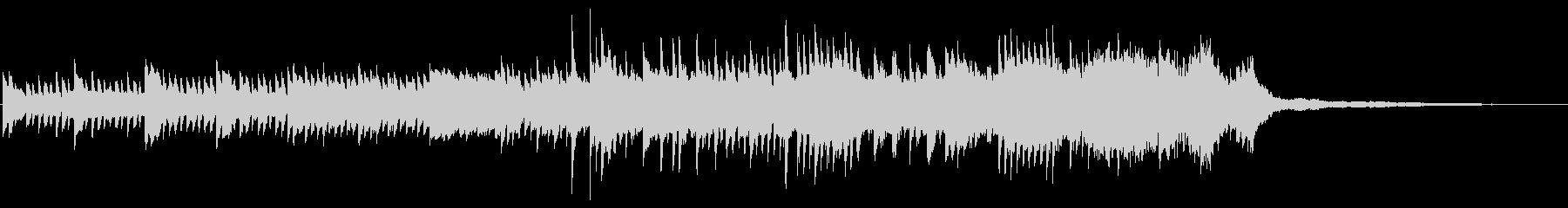 ピアノBGM60秒-ウエディングの未再生の波形
