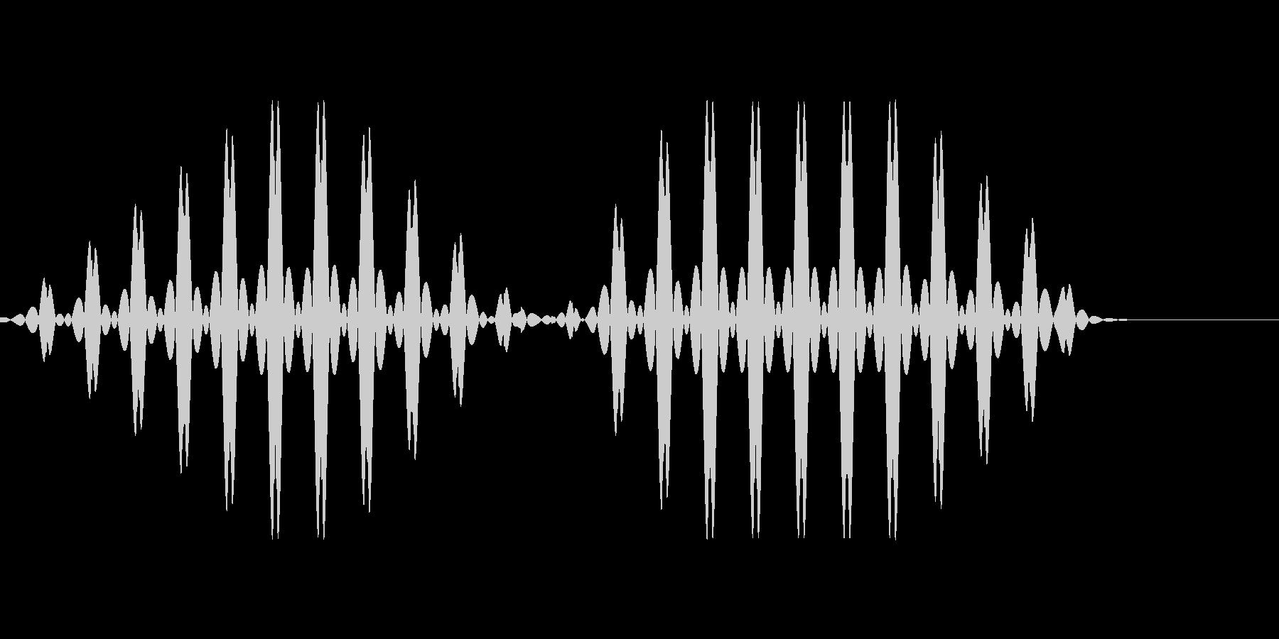 ブブ2【選択不可、使用不可、エラー】の未再生の波形