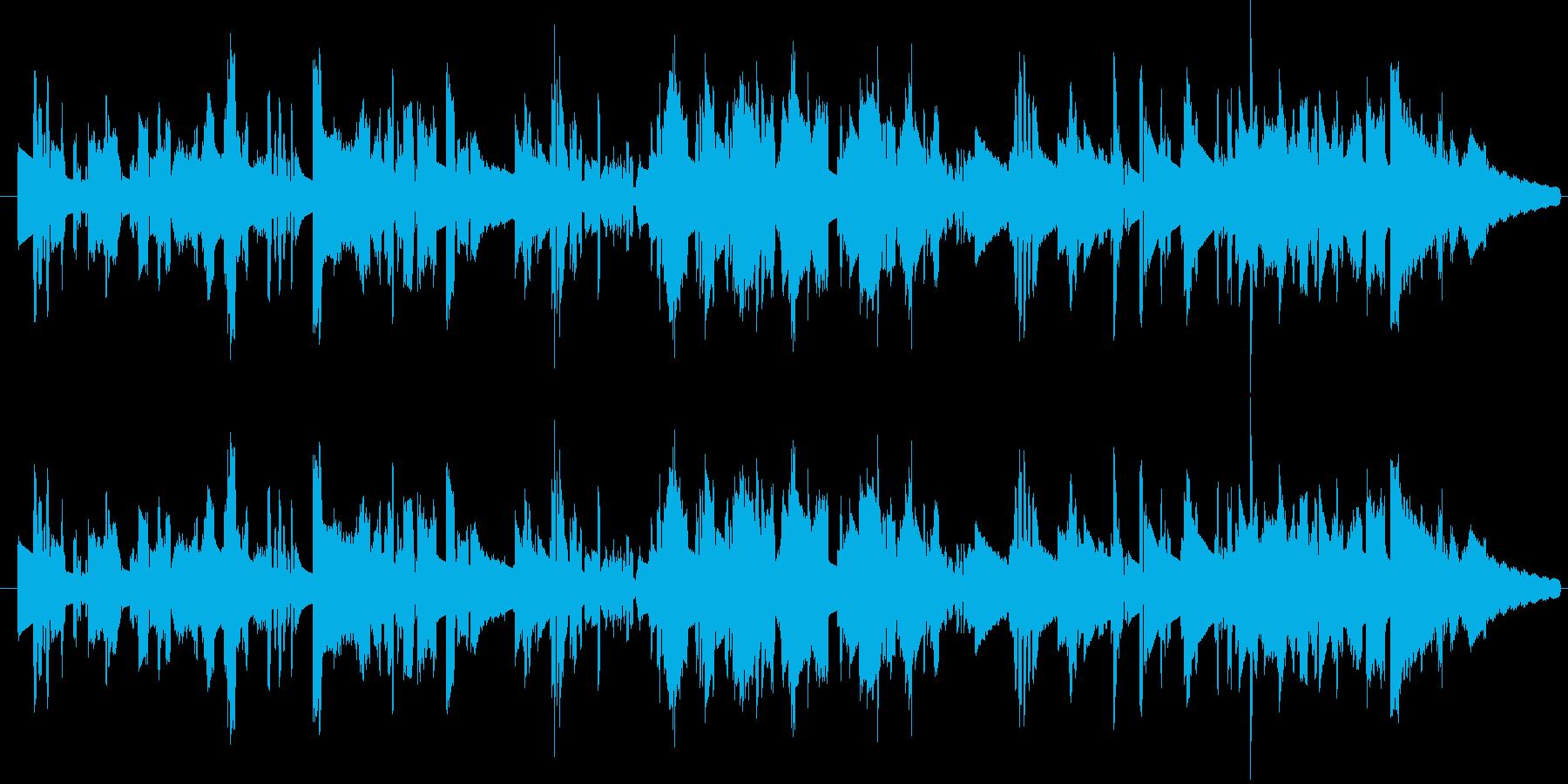 ファンキー エレピソロの再生済みの波形