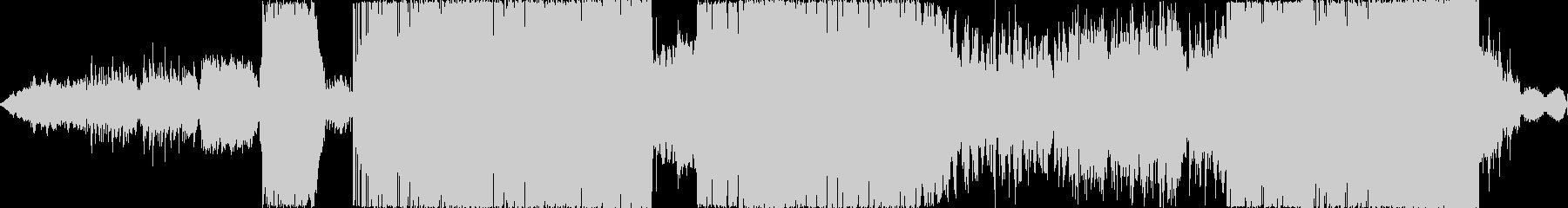 近未来的なゆったりとしたBGMの未再生の波形