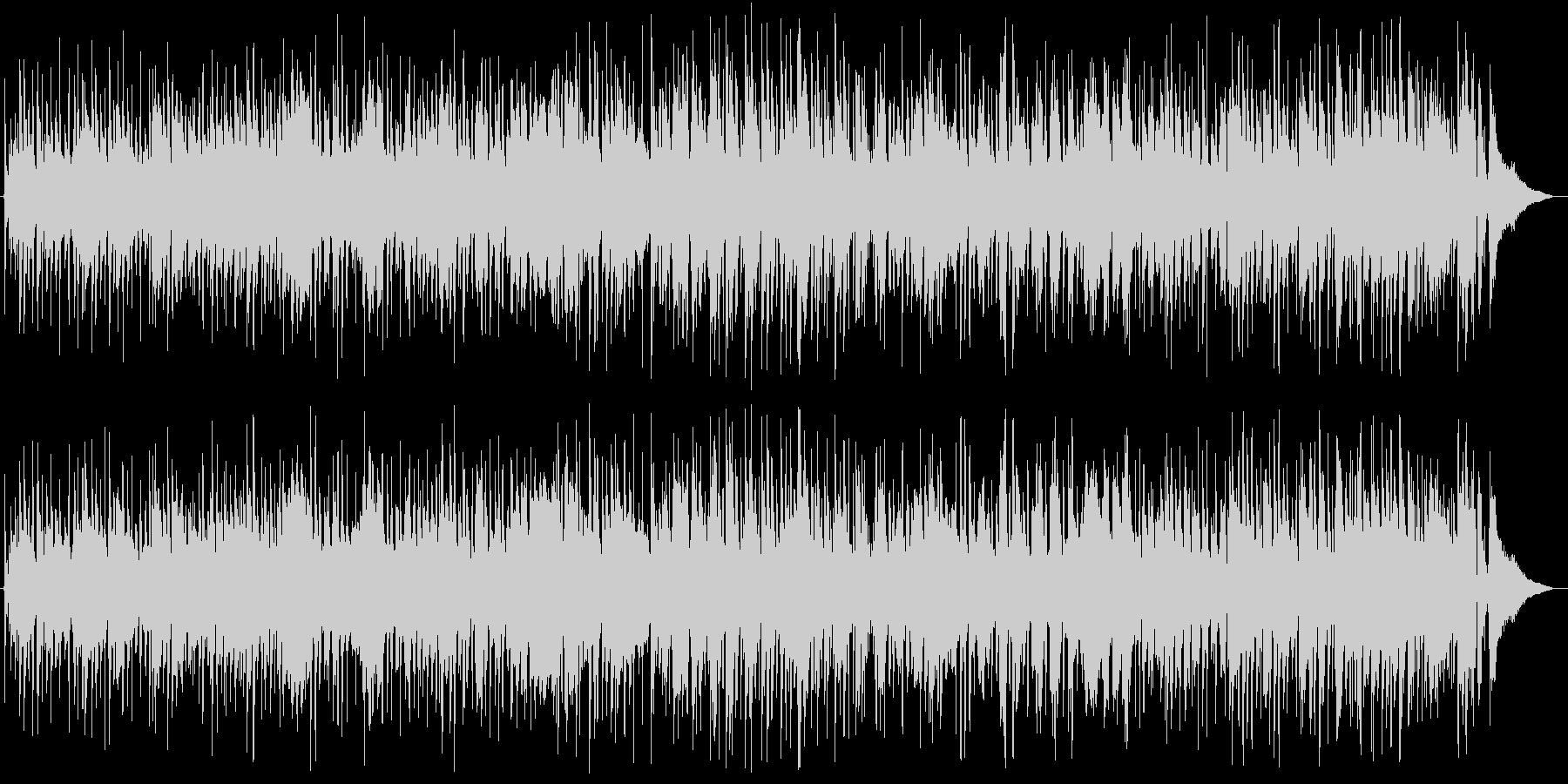 アコギ/ヴァイオリンのジプシージャズの未再生の波形