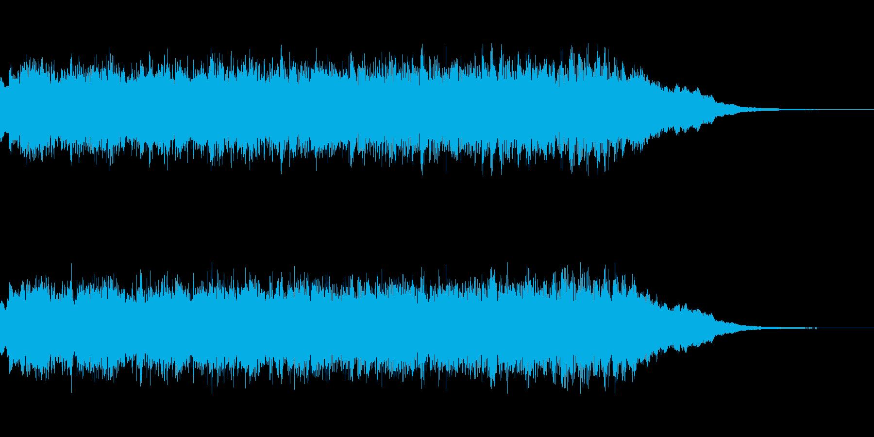 発車メロディ サウンドロゴなどにの再生済みの波形