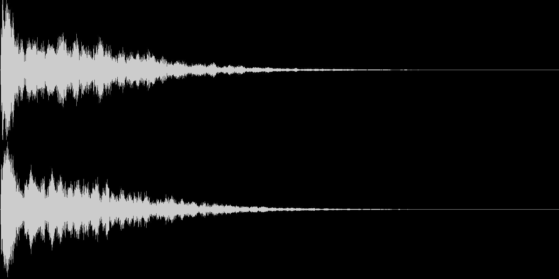 シンセ音(キラーン、アプリ、ゲーム等に)の未再生の波形