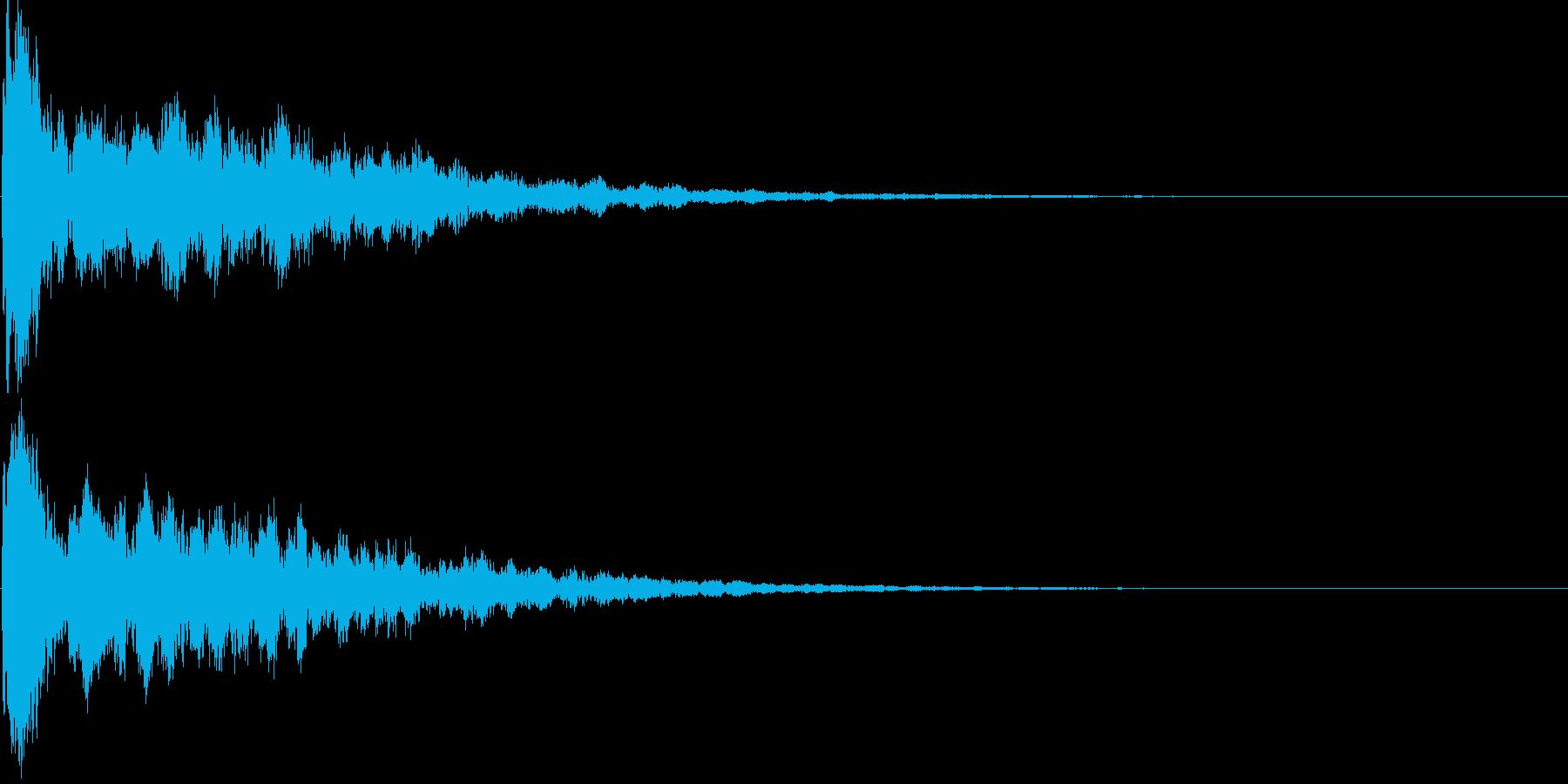 シンセ音(キラーン、アプリ、ゲーム等に)の再生済みの波形