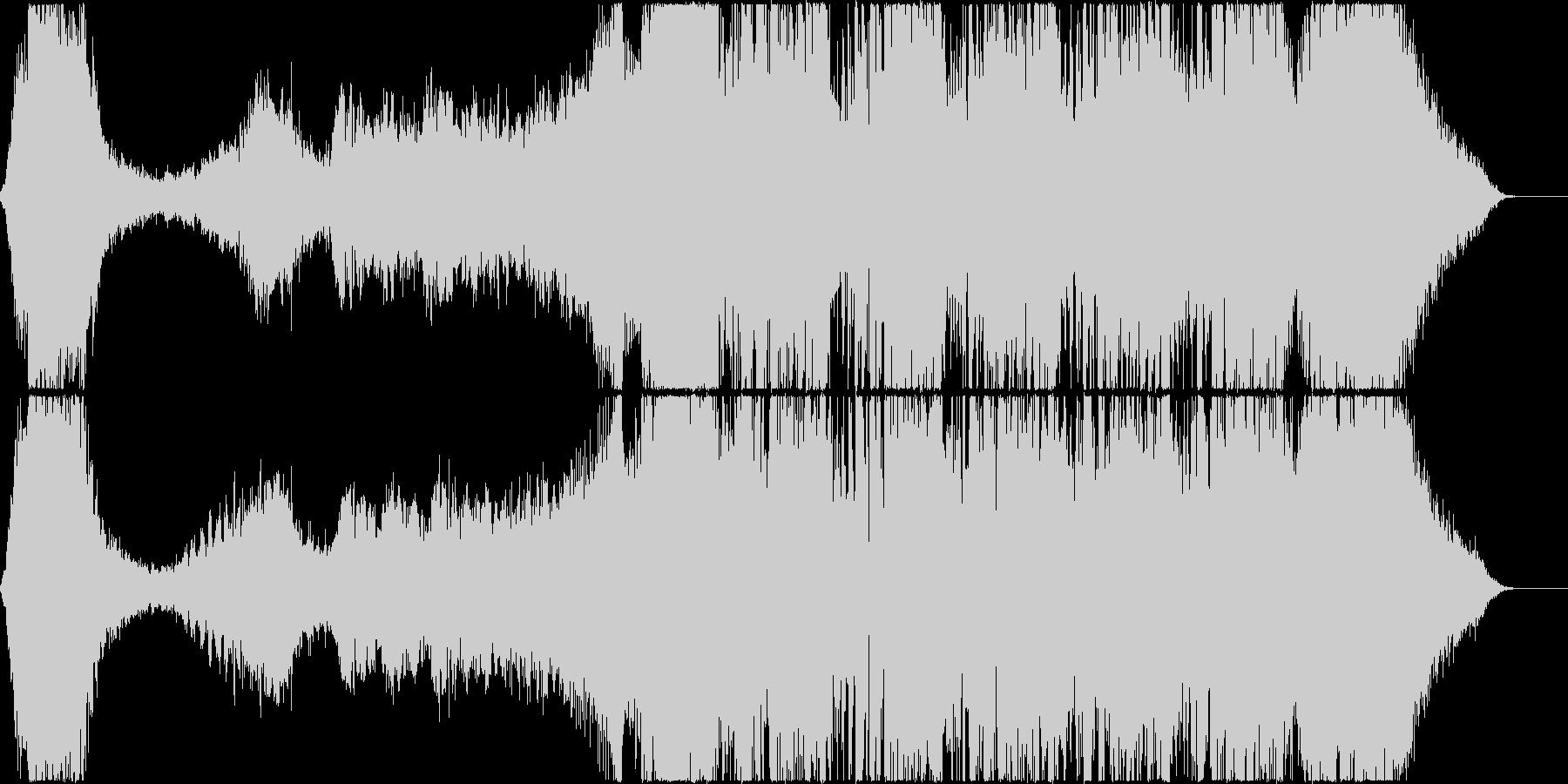 不気味系・トレーラー/シンセ+打楽器の未再生の波形