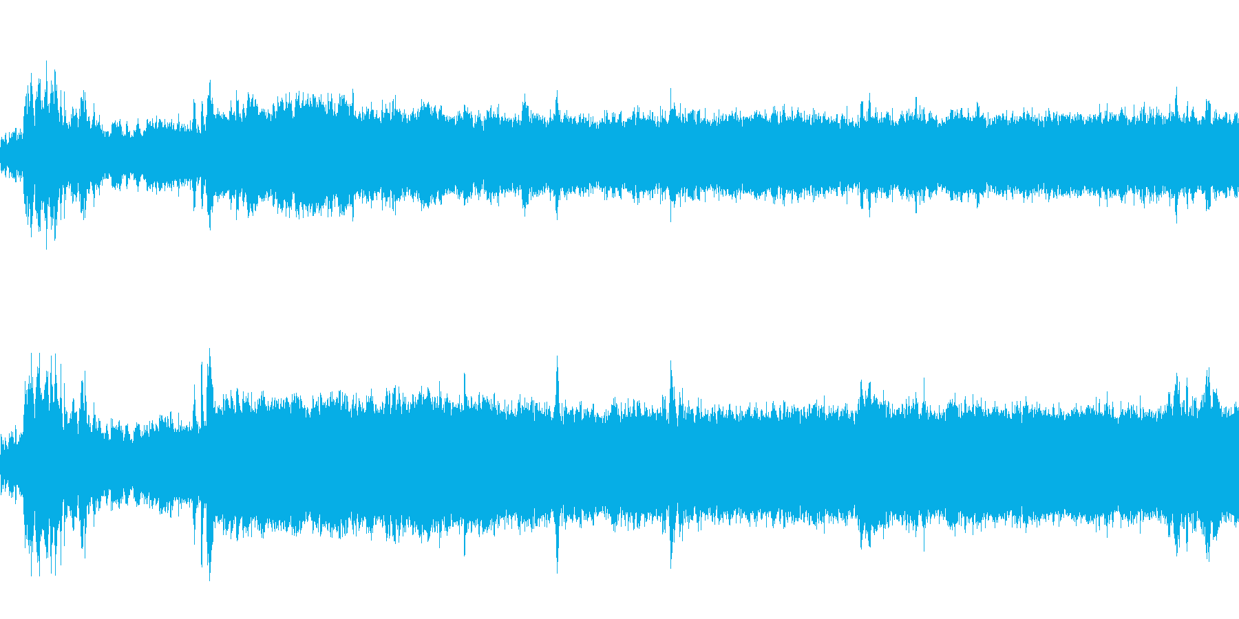 ヤカンが沸騰の再生済みの波形