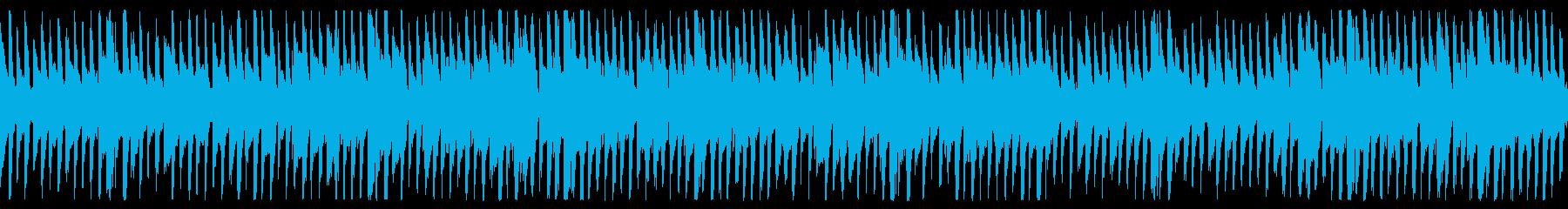 【リズム抜き】明るく爽やかなPR動画用Bの再生済みの波形