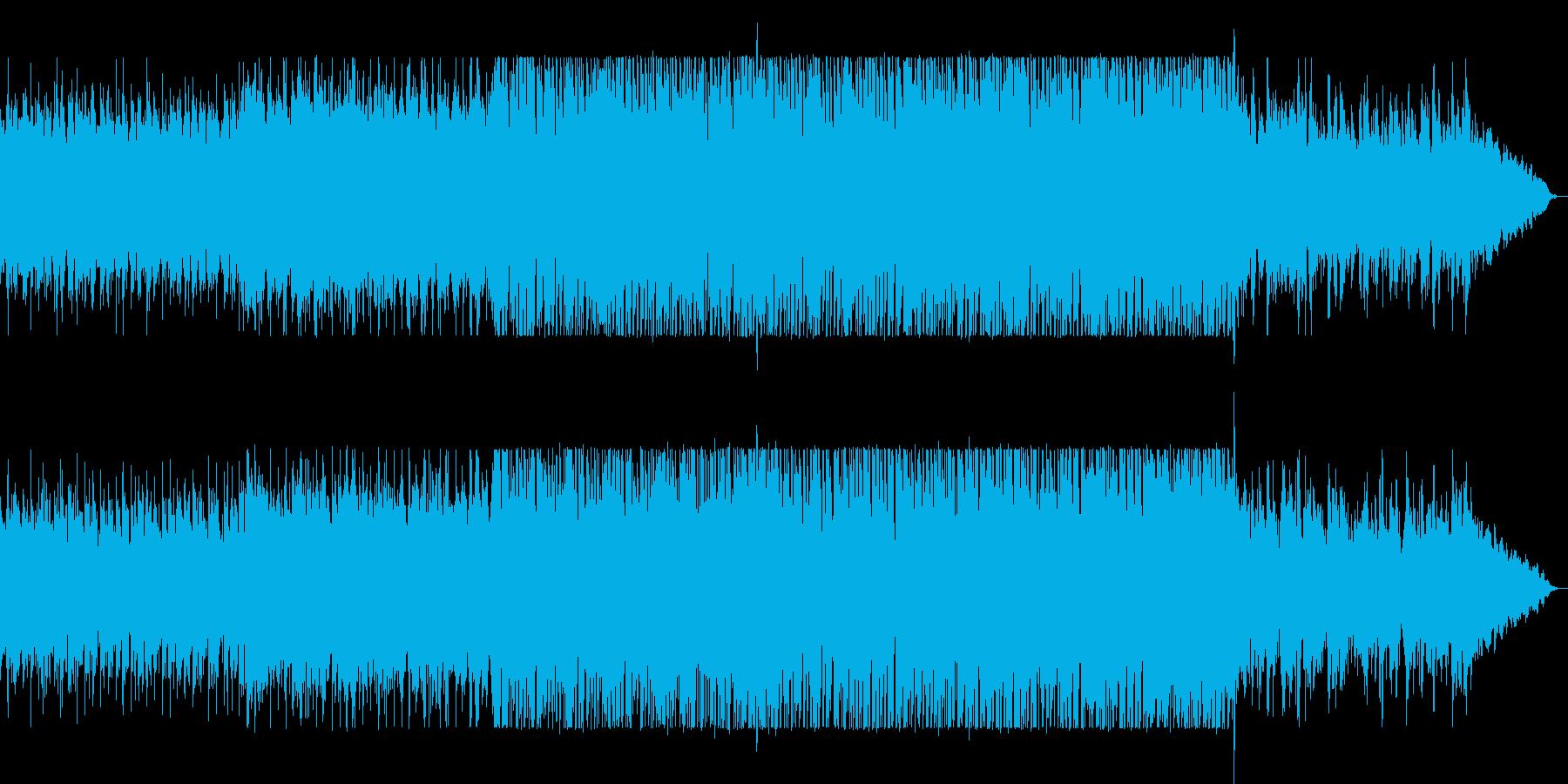 幻想的でドラマチックなヒーリングサウンドの再生済みの波形