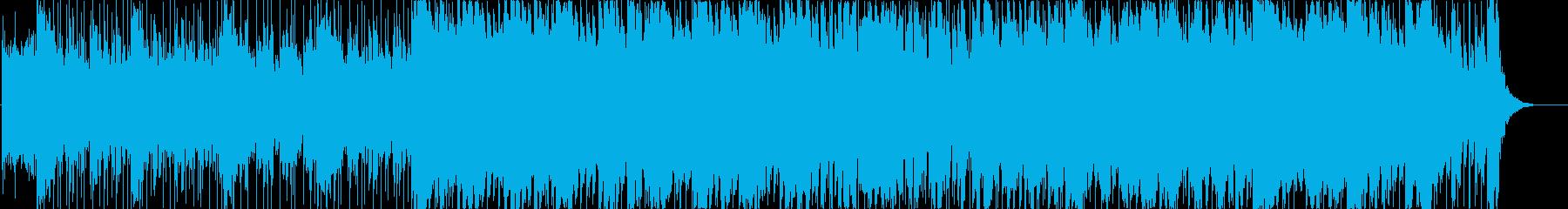 イベントのオープニングの再生済みの波形