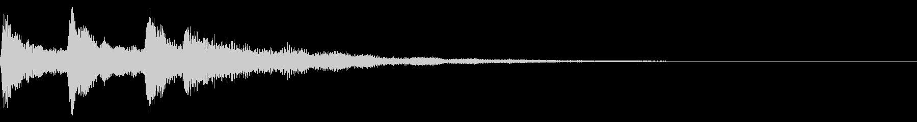 ミステリアスな音 ホラー、心霊系向けの未再生の波形
