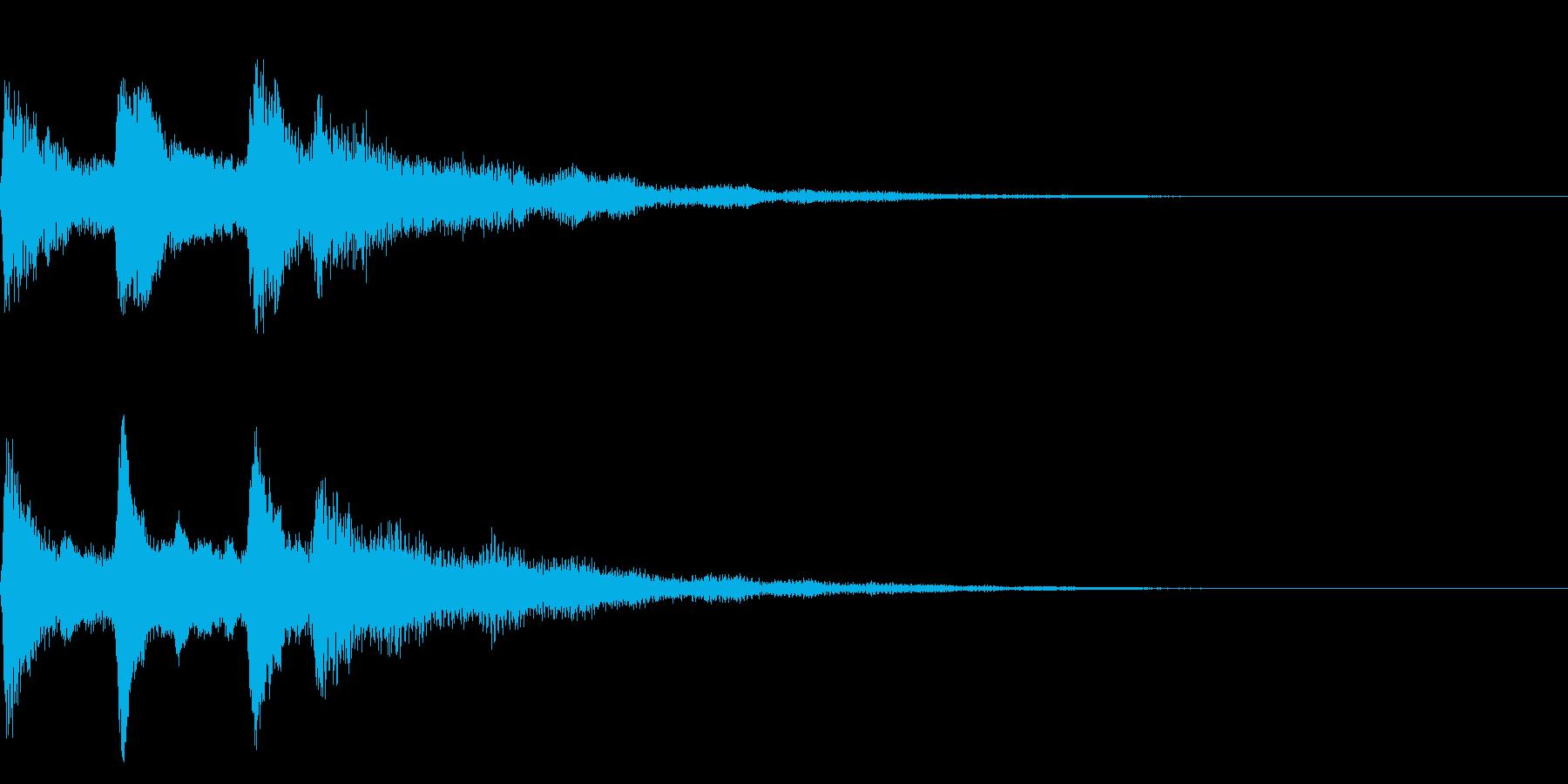 ミステリアスな音 ホラー、心霊系向けの再生済みの波形
