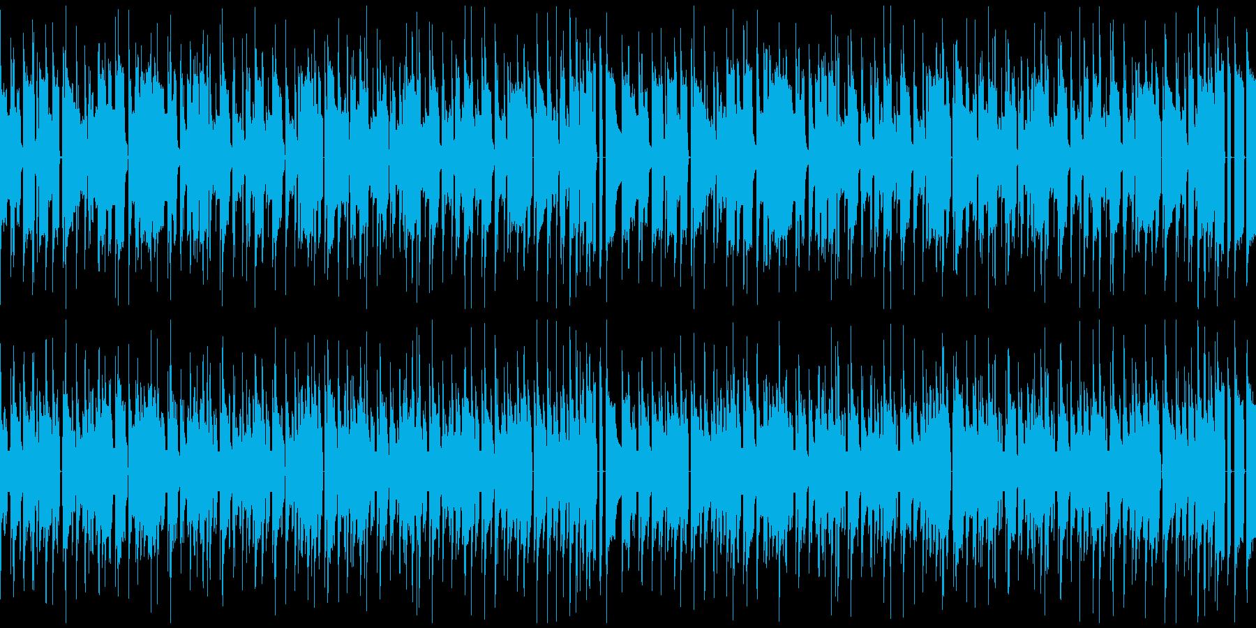 レトロBGM 放課後 スキップの再生済みの波形