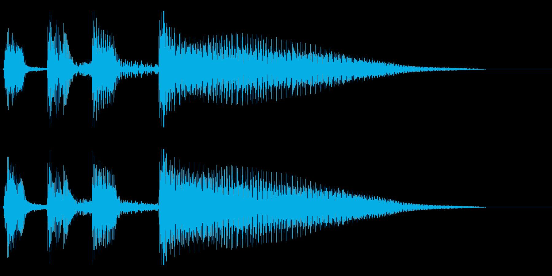 【斜に構える2】の再生済みの波形