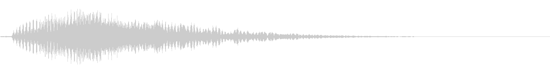 SF 開閉音 7の未再生の波形