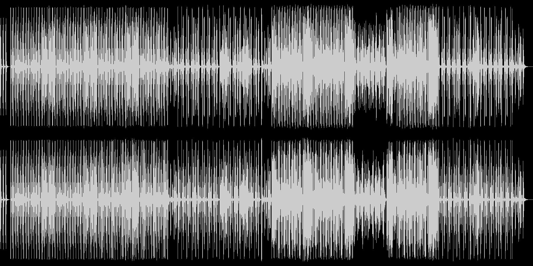 声だけで作られたビートの未再生の波形