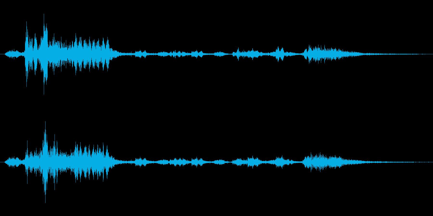 キキキ、ガオー、ウキキなどの再生済みの波形
