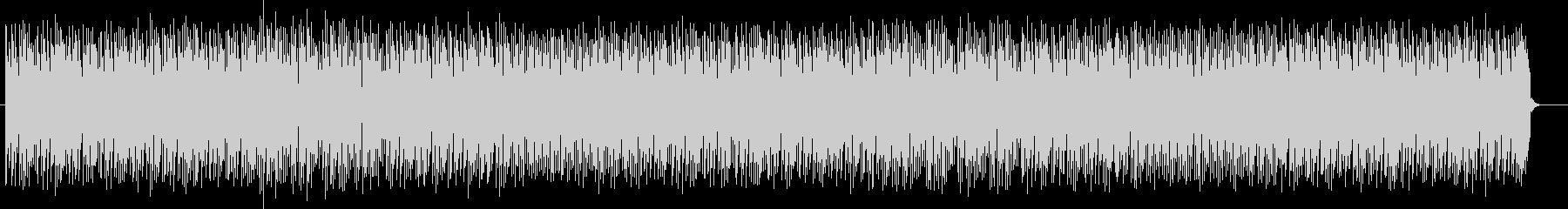 アップテンポでユニークな曲の未再生の波形