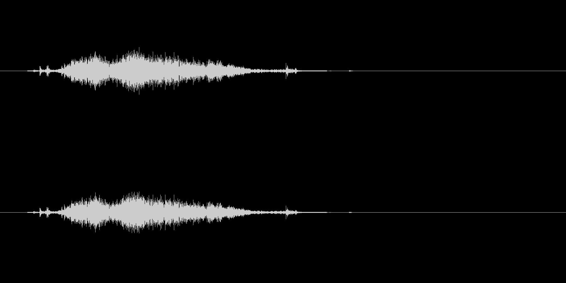 【カーテン02-5】の未再生の波形