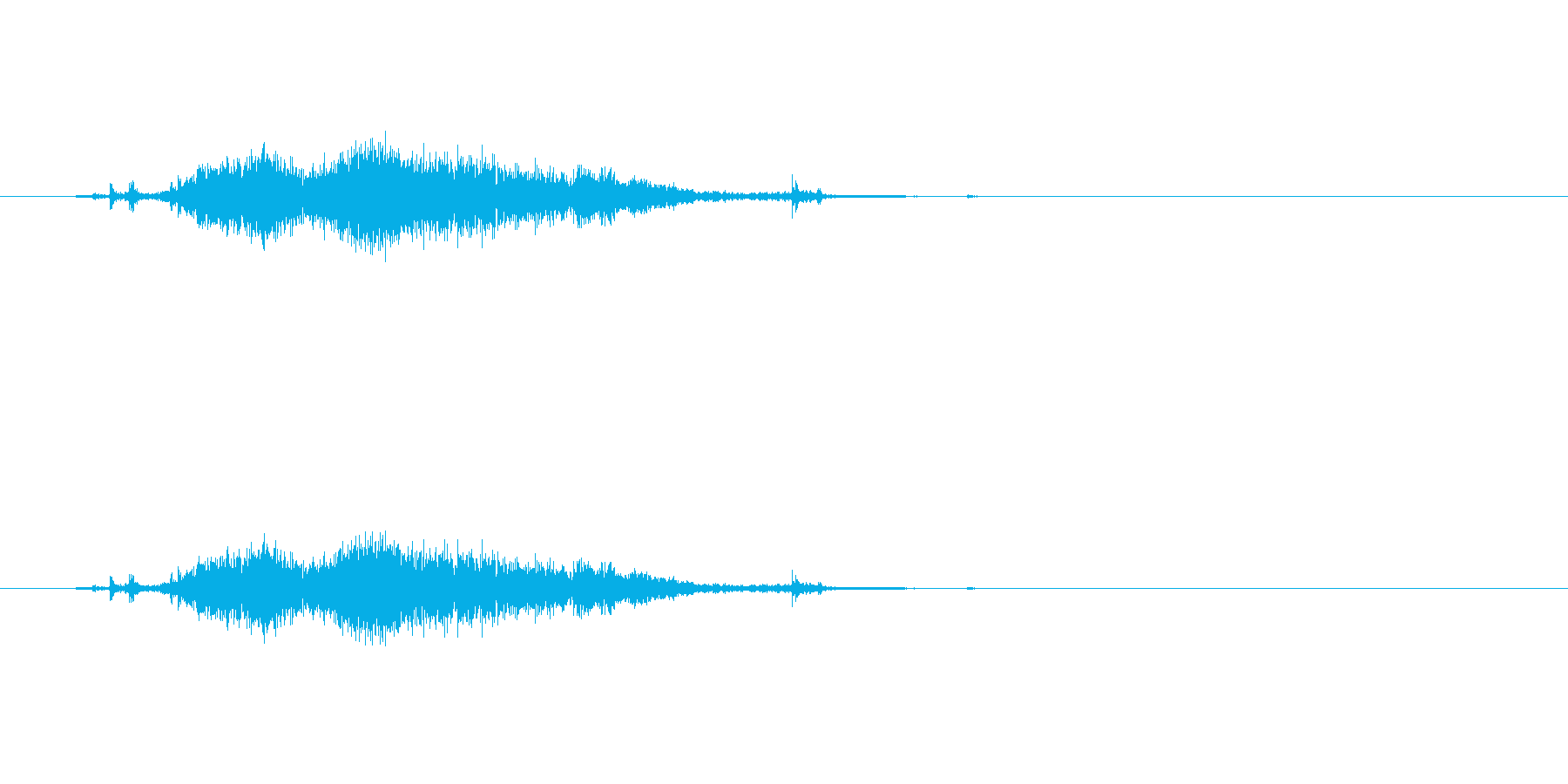 【カーテン02-5】の再生済みの波形