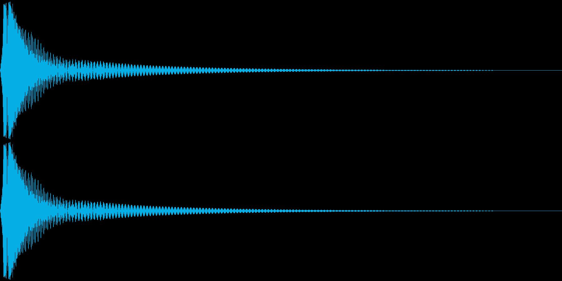 Cap フタ・栓を開ける音 4の再生済みの波形