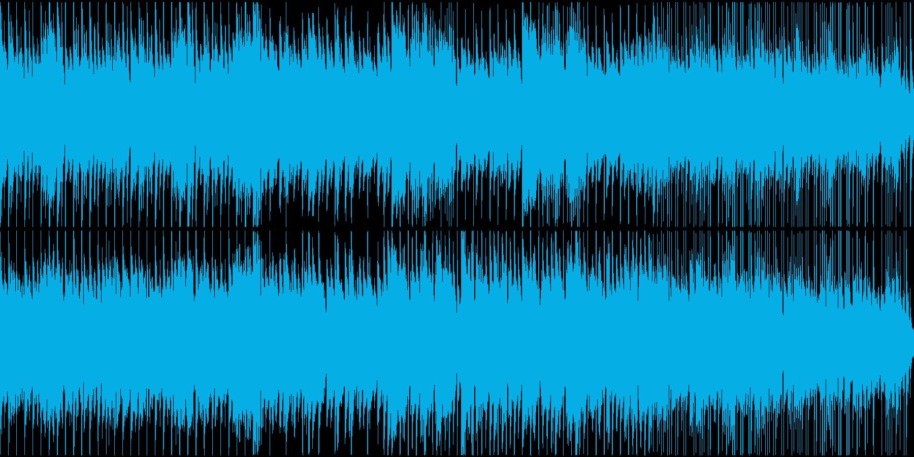 ほのぼのかわいいゲームBGMの再生済みの波形