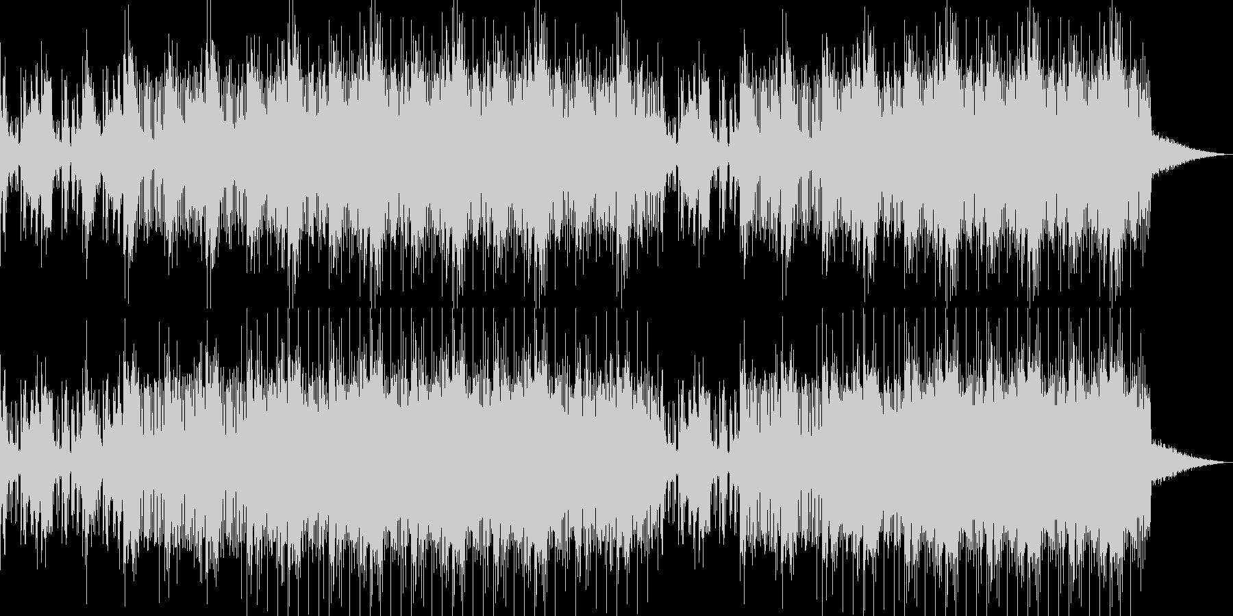オーガニックなチルアウトBGMの未再生の波形
